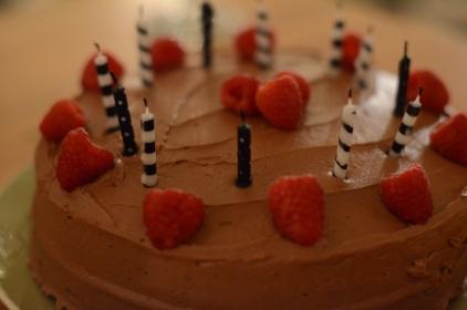 Kahlua Chocolate Birthday Cake