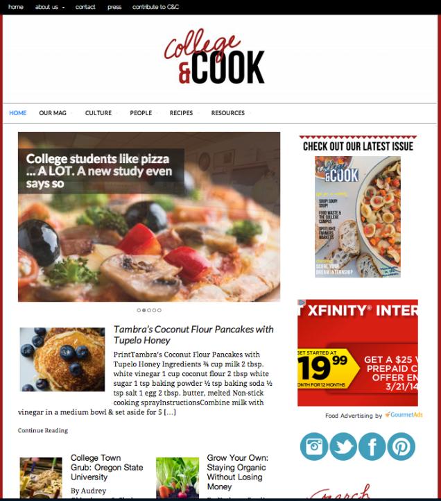 Collegeandcook.com
